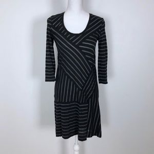 Marc By Marc Jacob Stripe Fitted Dress